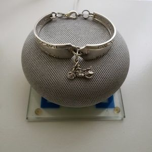 Jewelry - Silver Spoon Handle Bracelet w/Charm